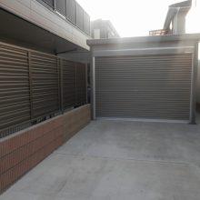 土間コンクリートとガレージを設置 NO.537の施工写真