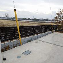 フェンスの交換で高級感UP! NO.538の施工写真1