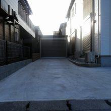 土間コンクリートとガレージを設置 NO.537の施工写真1