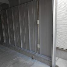 土間コンクリートとガレージを設置 NO.537の施工写真2