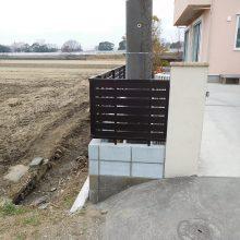 フェンスの交換で高級感UP! NO.538の施工写真2