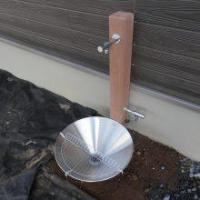 自然に合わせた木目のスタンプコンクリート NO.533の施工写真
