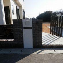 新築物件にオープン外構 NO.539の施工写真1