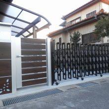 入口をしっかりリフォーム  NO.546の施工写真1