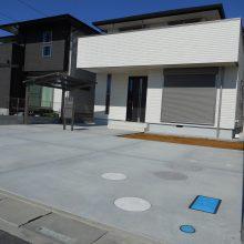駐車場工事とサイクルポート設置 NO.562の施工写真0