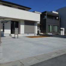 駐車場工事とサイクルポート設置 NO.562の施工写真2
