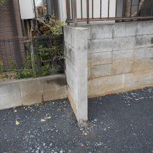 駐車場工事と境界線ブロック工事 NO.590の施工写真2