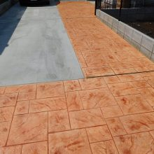 スタンプコンクリートの存在感 NO.578の施工写真0