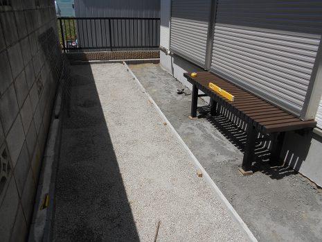 犬走りをスタンプコンクリートで NO.614の施工前写真0