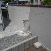 数種類のコンクリートを使い分け NO.615の施工写真2