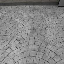 ヨーロピアンファンのスタンプコンクリート NO.643の施工写真1