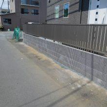 駐車場とフェンス工事 NO.638の施工写真2