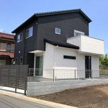 建物まわりに砂利とスタンプコンクリート NO.645の施工写真0