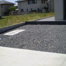 駐車場と建物周りの工事 NO.631の施工写真1