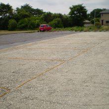 貸駐車場の工事です。NO.632の施工写真1