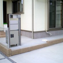 機能門柱と駐車場工事 NO.635の施工写真