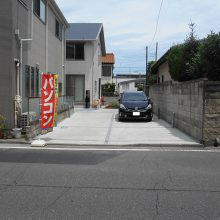 駐車場工事とスタンプコンクリート施工 NO.647の施工写真