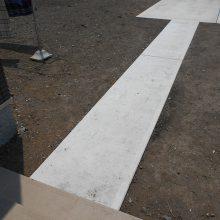 境界ブロック工事いたしました。NO.657の施工写真2