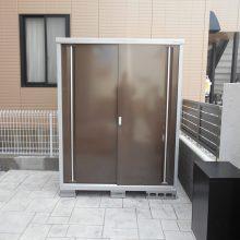 宅配BOXを門塀に埋め込みました NO.662の施工写真1