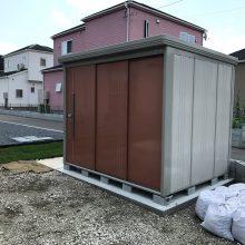 駐車場と物置を設置 NO.654の施工写真1