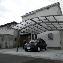 門まわりと駐車場工事 NO.659の施工写真