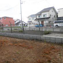 門まわりと駐車場工事 NO.659の施工写真0