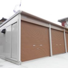 3台分のガレージ NO.687の施工写真2