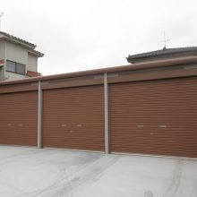 3台分のガレージ NO.687の施工写真
