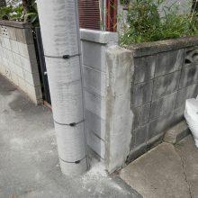 ブロック塀の補修工事 NO.691の施工写真1