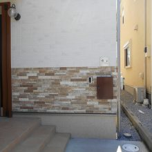 暖かいイメージのエクステリア NO.722の施工写真1