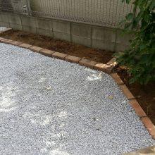 雑草対策ですっきり NO.701の施工写真1