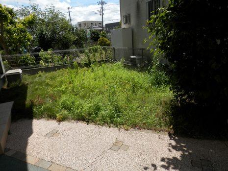 雑草対策ですっきり NO.701の施工前写真0