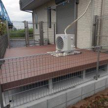 愛犬の為のフェンス施工 NO.704の施工写真2