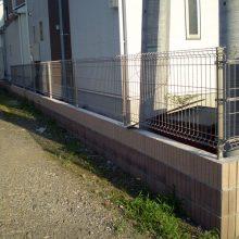 フェンスは愛犬のために NO.718の施工写真2