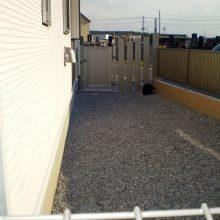フェンスは愛犬のために NO.718の施工写真3