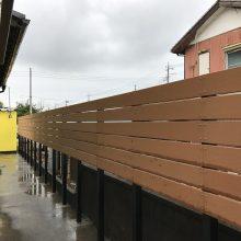 目隠しフェンスを設置 NO.740の施工写真1