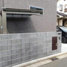 宅配BOXを門塀に NO.730の施工写真0