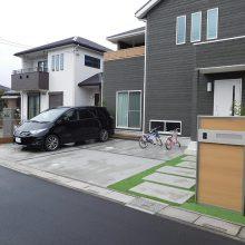人工芝のアプローチ NO.744の施工写真0