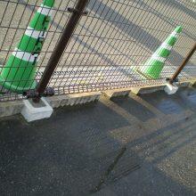 壊れたフェンスを修復 NO.733の施工写真0