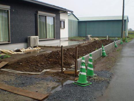 敷地が大きい時の雑草対策 NO.749の施工前写真0