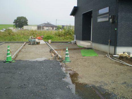 敷地が大きい時の雑草対策 NO.749の施工前写真2