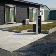 敷地が大きい時の雑草対策 NO.749の施工写真