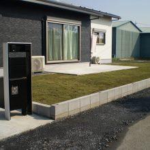 敷地が大きい時の雑草対策 NO.749の施工写真0