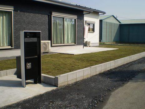 敷地が大きい時の雑草対策 NO.749の施工後写真0