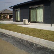 敷地が大きい時の雑草対策 NO.749の施工写真2