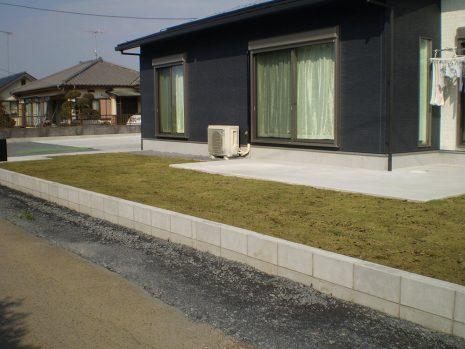 敷地が大きい時の雑草対策 NO.749の施工後写真2