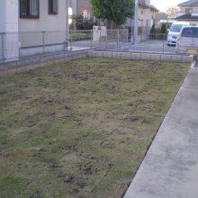 カラー砂利で防草対策 NO.751の施工写真2