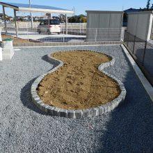 人工芝とウッドデッキの相性 NO.786の施工写真1