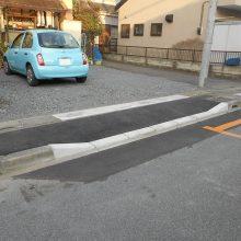 歩道切り下げ工事 NO.775の施工写真0