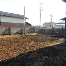 植栽を伐採伐根 NO.781の施工写真2